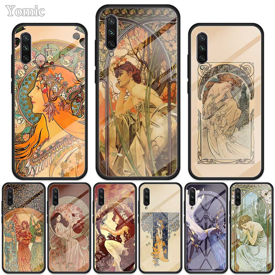 Art Poster Alphonse <font><b>Case</b></font> for <font><b>Samsung</b></font> Galaxy S20 S10 S10e S9 S8 Note 10 Plus 5G <font><b>A70</b></font> A50 <font><b>Tempered</b></font> <font><b>Glass</b></font> Soft Edge Phone Cover image