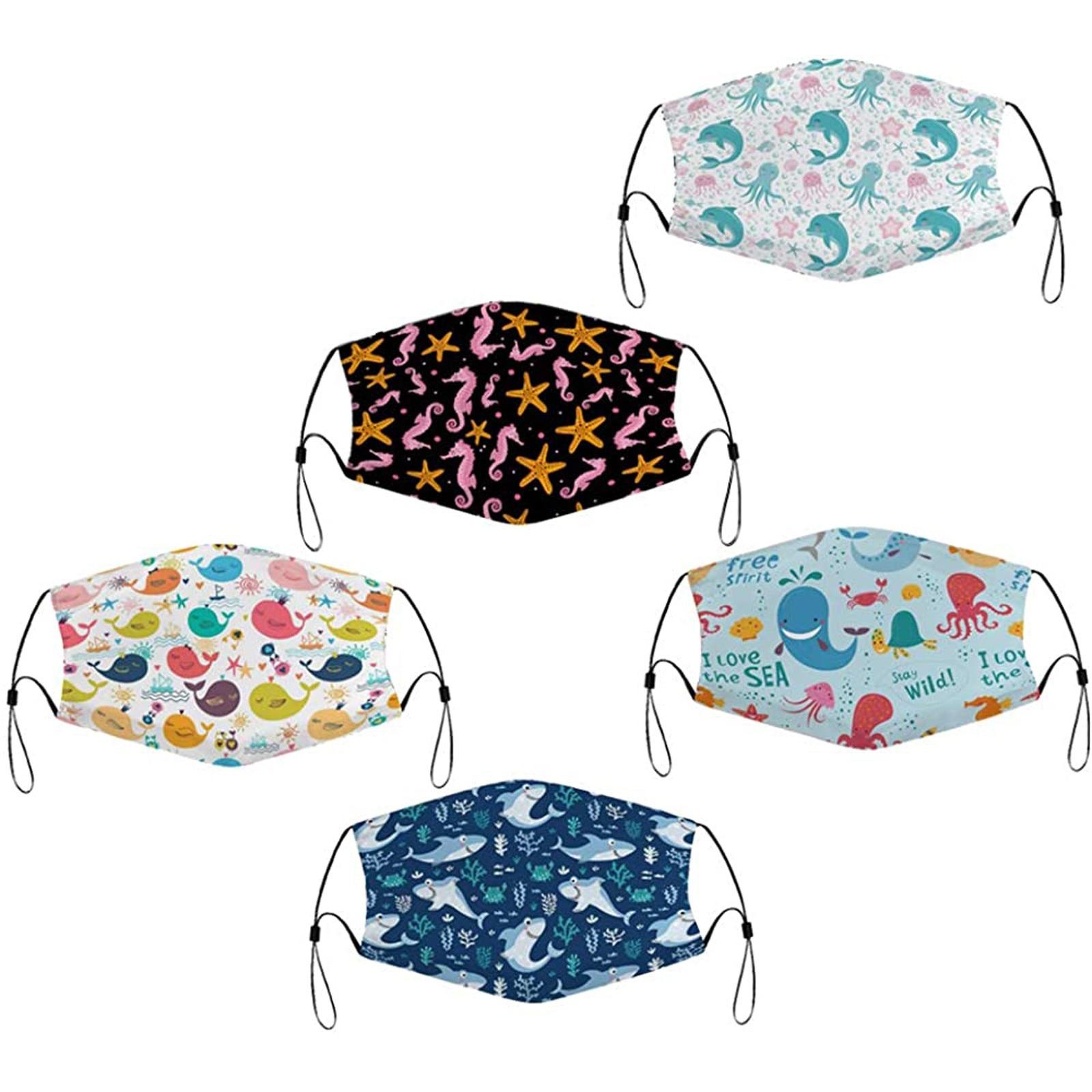 Masque lavable enfant à motifs imprimés Créer Son T Shirt