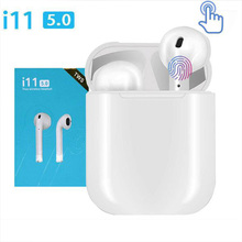 I11 Tws Air Bluetooth wireless Earphone Drive Earbuds Sport Headphone drive fineblue bluetooth 5.0
