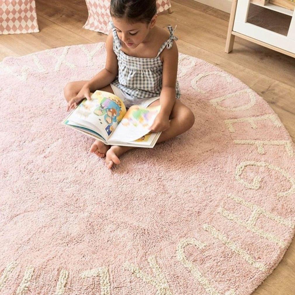 Tapis de jeu pour bébé en mousse de Polyester souple de Style nordique 26 lettres - 5