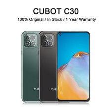 CUBOT C30 akıllı telefon ile NFC 4G küresel sürüm cep telefonları 48MP arka dört AI kamera 32MP Selfie smartphone android 10 256GB