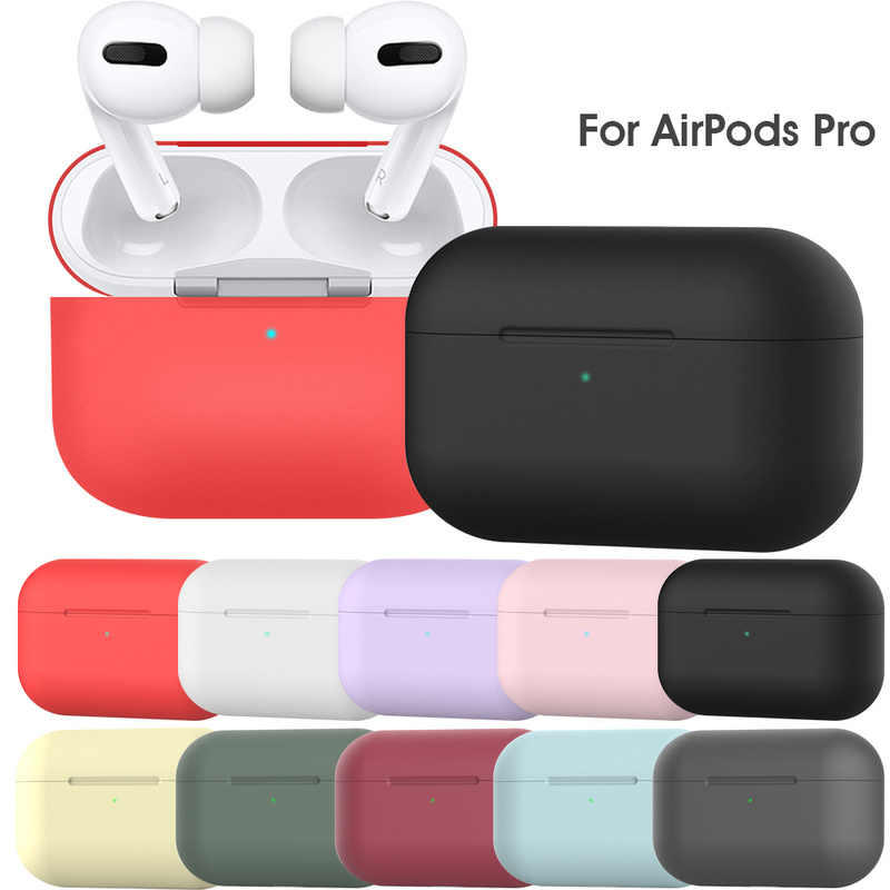 Silicona Para Headset Para Voor Apple Airpods Pro Funda Protectora Auriculares Air Pods Pro 3 Funda Een Prueba De Golpes