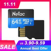 Netac p500 karte 32gb 64gb carte mémoire classe 10 prix de gros cartes TF cartao de mémoire UHS-1 microsdhc/sdxc livraison directe carte SD