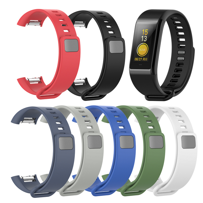 <font><b>Unisex</b></font> <font><b>Watch</b></font> Strap for Amazfit Huami COR Meter <font><b>Bracelet</b></font> A1702 Silicone Textured Breathable <font><b>Watch</b></font> Band Wrist Band Replacement image