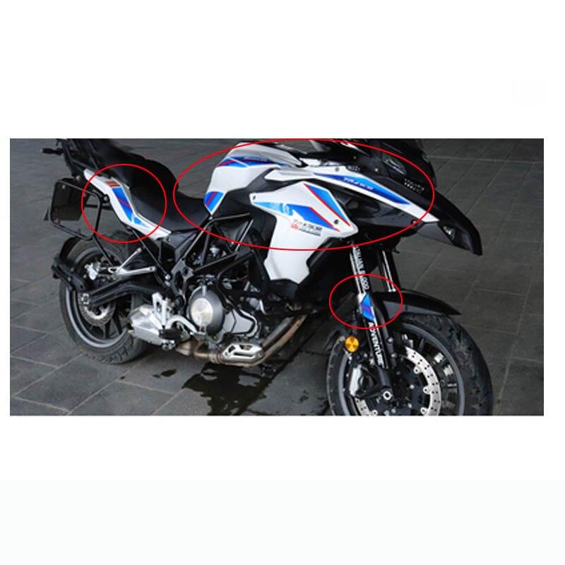 Black Prot/ège R/éservoir Moto Tank Pad Sticker Autocollant Benelli Leoncino