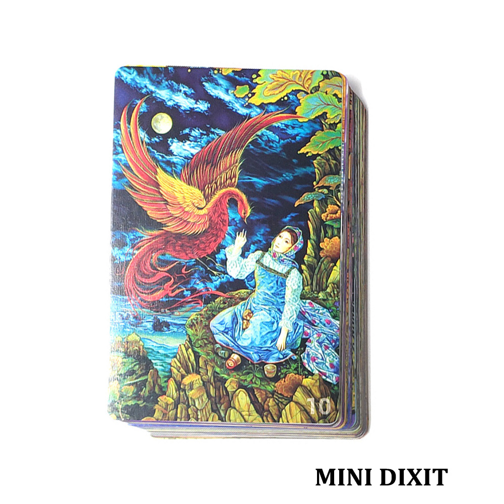 Mini Dixit 10 Cards Game For Kids Freedom, 78 Cards, Education Toys School Home Party Fun Board Game