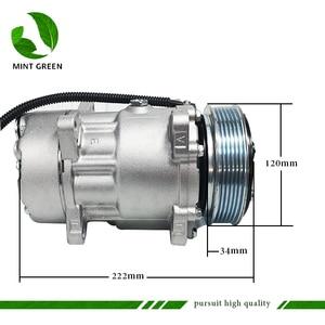 Image 5 - SANDEN 7V16  AC Compressor for PEUGEOT 306 406 for CITROEN XANTIA  6453FE 6453GA 6453L5 9613260680 9640486480 1106 1227 SD7V16