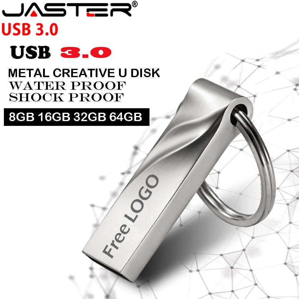 USB 3.0 clés 128 gb mini usb Flash métal stylo clé disque logo clé USB clé usb carte mémoire flash 32GB/8 GB/4GB/16GB/128 GB