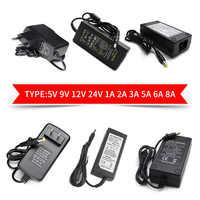 5V 9V 10V 13V 15V 24V 12V Power Adapter Supply 1A 2A 3A AC DC 220V To 12V 5V 24V Universal Power Adaptor For AC DC Led Adapter