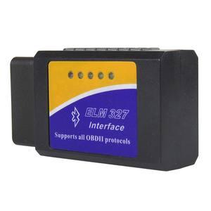 Image 2 - Elm 327 ObdII V2.1 Elm327 Bluetooth OBD2 Car Diagnostic Scanner For Android ELM 327 V 2.1 OBD 2 Auto Code Reader Diagnostic Tool