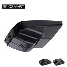Sinosmart sony imx323 1080 p wifi carro dvr traço gravador de vídeo digital para geely atlas geral modelo 2016 4wd controle app
