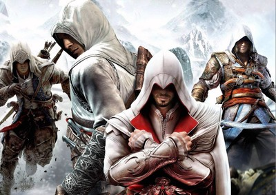 Canvas Paintings Posters Assassins Creed Connor 34 War Wall Art