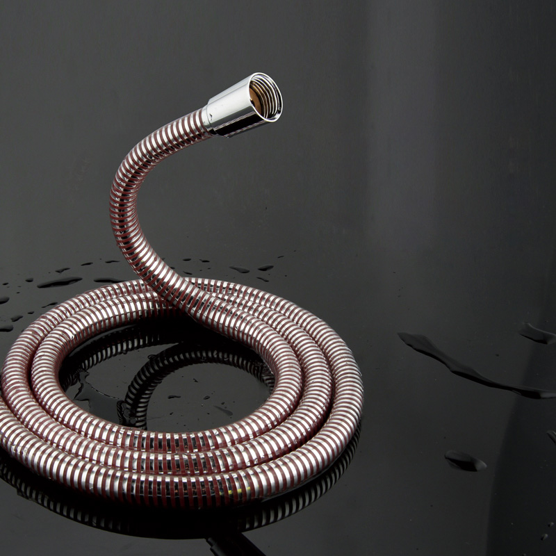 BAKALA High-tech Universal 150mm Shower Hose Explosion-proof Encryption Bathroom Anti-scalding Color Hose Fittings
