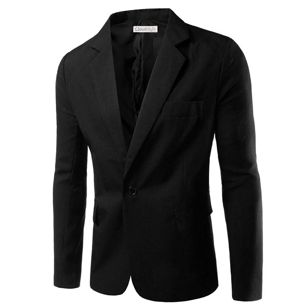 Men's Suit Blazer With  Single-breasted Button EU Size Autumn New Solid Colorful Suit Jackets Casual Men Business Slim Blazer