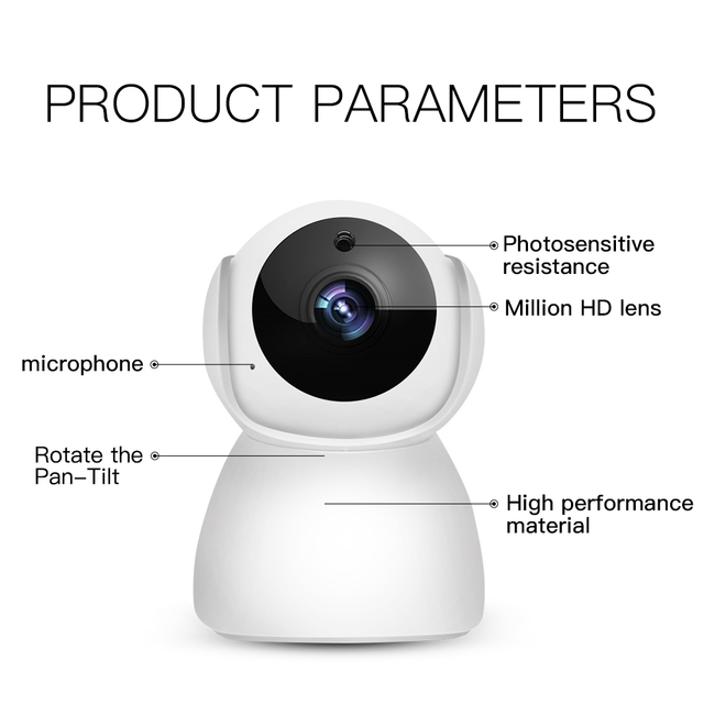HD Motion Detection Baby Monitor 4