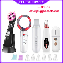Facial Radio Frequency RF EMS Mesotherapy Beauty Blackhead Remover Skin Scrubber Cavitacion Infrared Body Slimming Massager Lift