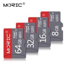 Tarjeta de memoria microSD Clase 10, 8GB, 16GB, 32GB, 64GB, 128GB, mini tarjeta TF, 4GB, con adaptador gratuito