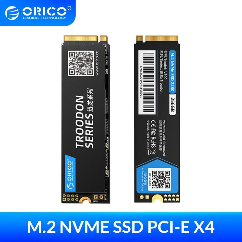 ORICO M.2 NVME SSD 128GB 256GB 512GB 1TB M2 PCIe NVME SSD M.2 2280 mm Internal Solid State Hard Drive For Desktop Laptop