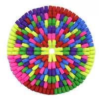 300 шт., ластик s, Ластики для карандашей, Ластики для карандашей, ластики, цветные Ластики для карандашей, школьные Ластики для детей,