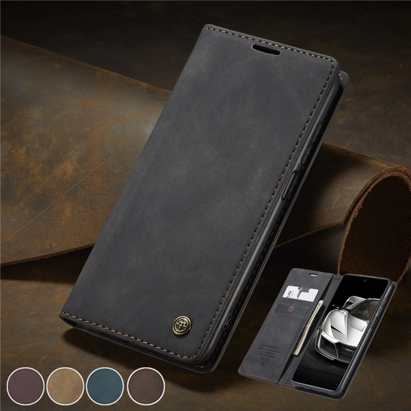Redmi Note 8 Pro Case For Xiomi Xiaomi Redmi Note 9 Pro Max 9S 8 K20 K30 Pro Mi 9T Note 10 CC9 Pro Case Magnetic Leather Cover