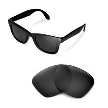 Walleva Polarized Replacement Lenses for Ray-Ban Wayfarer RB4105 50mm S