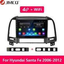 For Hyundai Santa Fe 2 2006-2012 2+32G Android 8.1 9 2din Car Radio Multimedia Stereo Audio Player GPS Head Unit HiFi