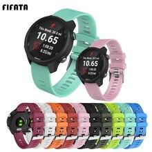 Браслет FIFATA силиконовый для Garmin Forerunner 245 245M 645 Vivoactive 3 Vivomove HR шнур Смарт-часы ремешок аксессуар