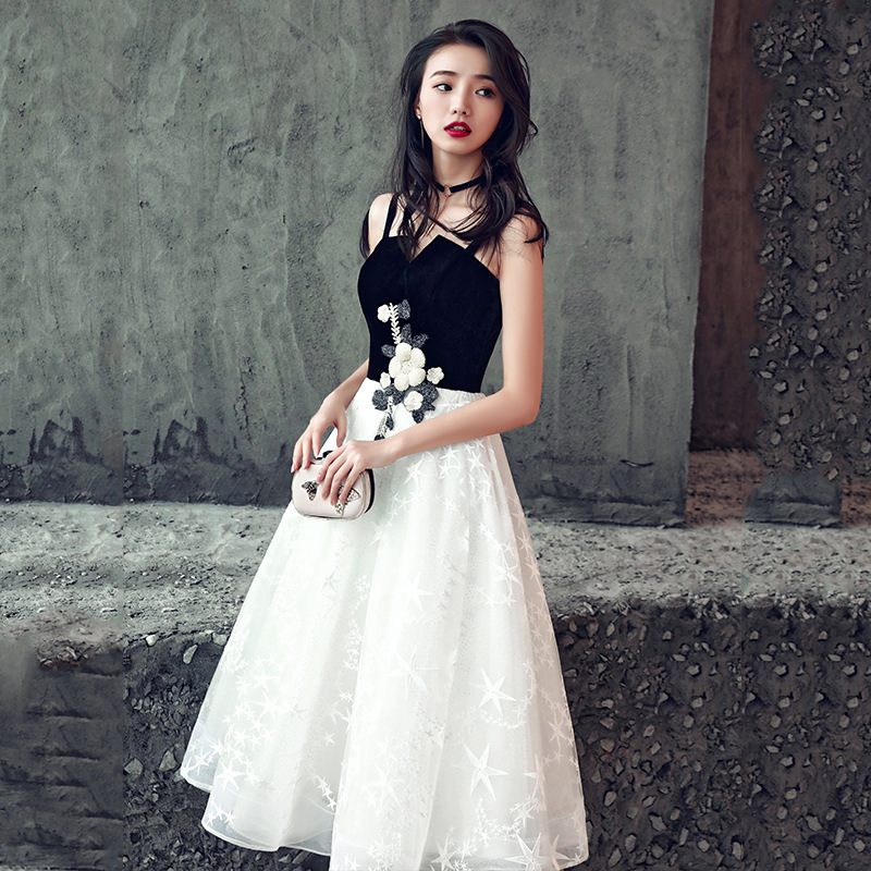 2020 Promotion Vestido De Noiva Vestido De Festa Evening Dress Women 2020 New Banquet Noble And Elegant Celebrity Party Small