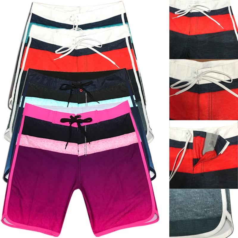Men's Swimwear   Shorts   Beach Surf   Board     Shorts   Men Quick Drying Summer Patchwork Water Sport Swimming Bermuda   Short   Boardshorts