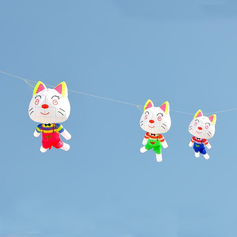 Livraison gratuite kitty cerf-volant mouche pour enfants grand cerf-volant doux pendentif ripstop nylon cerf-volant roue marche dans le ciel avenger albatros cerfs-volants