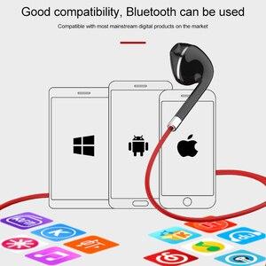 Image 2 - BT313 Bluetooth Oortelefoon Magnetische Hoofdtelefoon Sport Draadloze Opknoping Hals Koptelefoon Met Mi Crophone Voor Xiao Mi Rode Mi Huawei P30