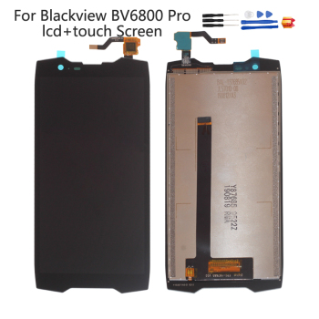 цена на Original Display For Blackview BV6800 PRO LCD Touch Screen Digitizer Replacement For BV 6800 pro Display Repair Parts Screen LCD