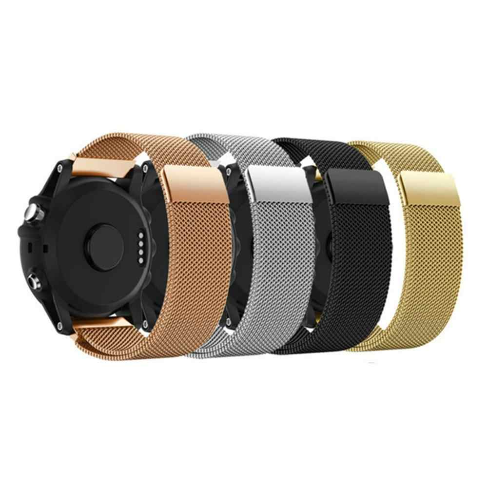 Vervanging Horlogeband Voor Fossiele Q Venture HR Gen4 3 Horloge Band Modieuze Verstelbare Eenvoudige Aantrekkelijke Metalen Horloge Band