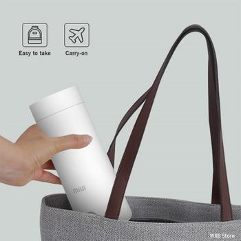 400ml Portable Electric KettlesThermal Cup Make tea Coffee Travel Boil water Keep warm Smart Water Kettle Kitchen Appliances 2