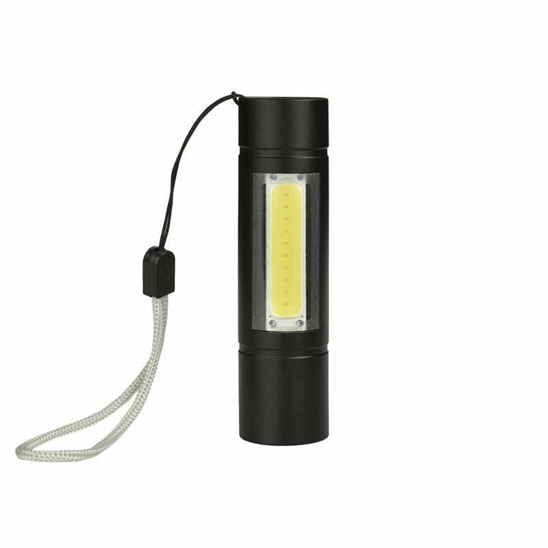 8000Lumens COB lampe de poche LED Super lumineux étanche poche lampes de poche torche lanterne lumière de travail pour l'éclairage de secours