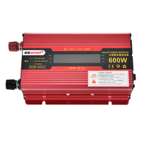 US 600W Car LCD Power Inverters DC 12V to AC 110V Modified Sine Wave Converters