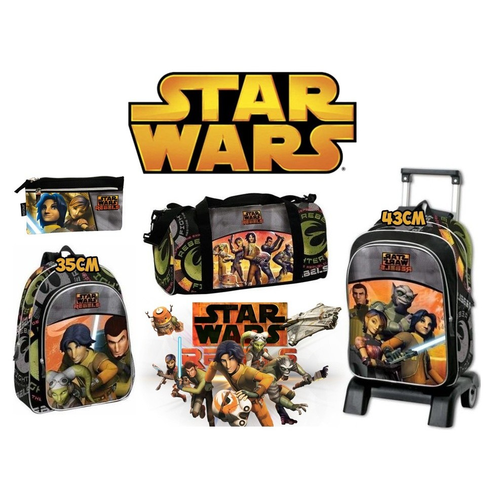 Batch Star Wars Backpack, Sport Bag, Trolley And Pencil Pouch