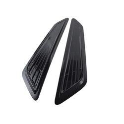 2 sztuk dla chevy camaro 1LT/LS/RS 2016 2018 przednia maska dopływ powietrza ozdobne wykończenia kaptur Scoop Bonnet Vent Decor okładki|Pokrywy zaworów|Samochody i motocykle -