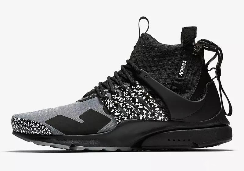 Brand New ACRONYM Presto Mid V2 Designer Shoes Camouflage Graffiti Men Women Running Shoes Racer Cool Darts Sneakers Size 36-45