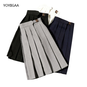 Summer Women Pleated Skirt High Waist A-Line Ladies Girl Mini Skirts Solid Color Female Pleated Skirt Fashion Chic Women Skirts summer women pleated skirt high waist a line ladies girl mini skirts solid color female pleated skirt fashion chic women skirts