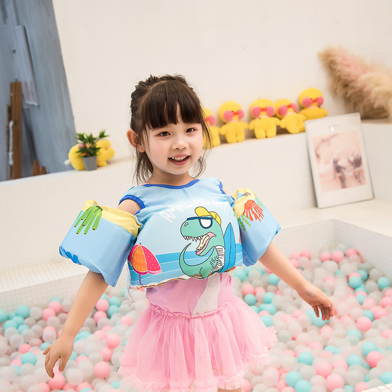 Kids Swimming Life Jacket Buoyancy Vest Baby Arm Foam Drifting Floating Swim Aid M09