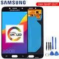 Display AMOLED Originais Para SAMSUNG Galaxy J730 J730F J7 Pro Touch Screen Display LCD para SAMSUNG J7 Pro Tela LCD substituição