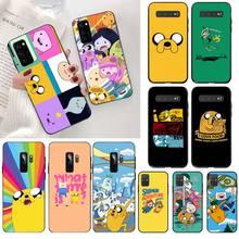 CUTEWANAN adventure time cute Beemo BMO Jake Finn Lumpy Phone Cover for Samsung S20 plus Ultra S6 S7 edge S8 S9 plus S10 5G цена 2017