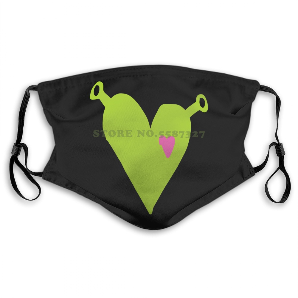 Face Mask Shrek Is Love Vol 1 This Is My Swamp Size Black Cotton Fashion Funny Design White Black Reusable Protective Masks