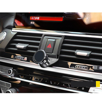 3 Colors Aluminum Alloy Car Center Air Vent Mobile Phone Holder For BMW X3 X4 G01 G02 2018 2019 Accessories