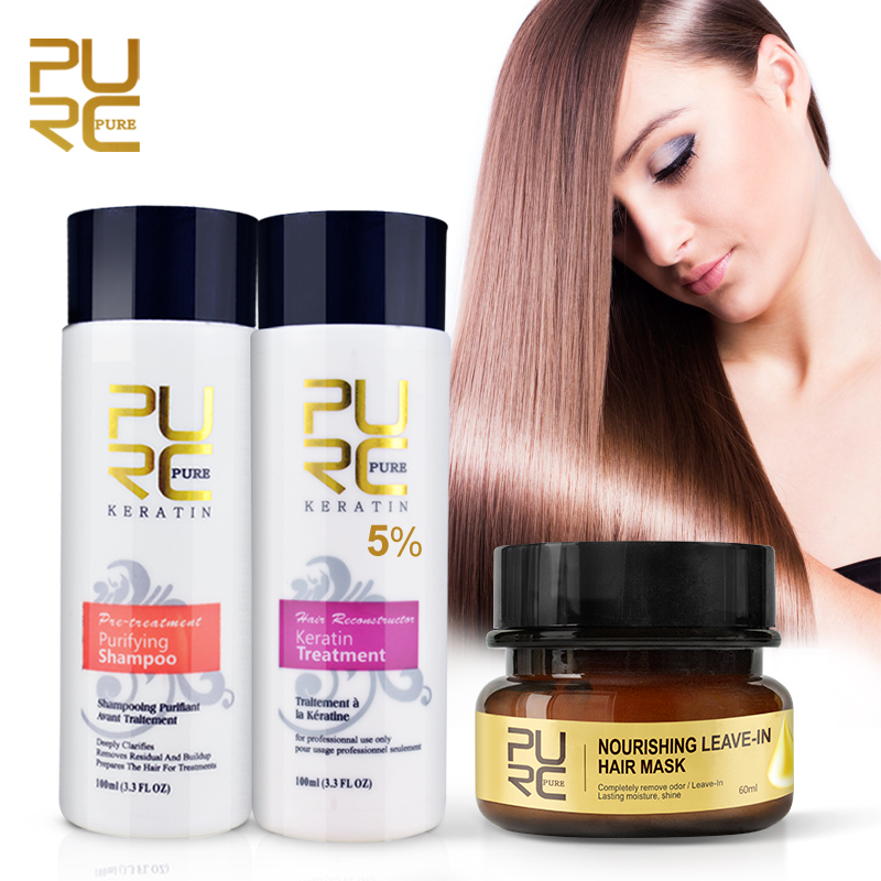 Tonic Keratin Hair Mask without Washing Magical Hair Straightener Repair Damaged Remove Smelly Restore Hair & Scalp Treatment|Hair & Scalp Treatments| - AliExpress