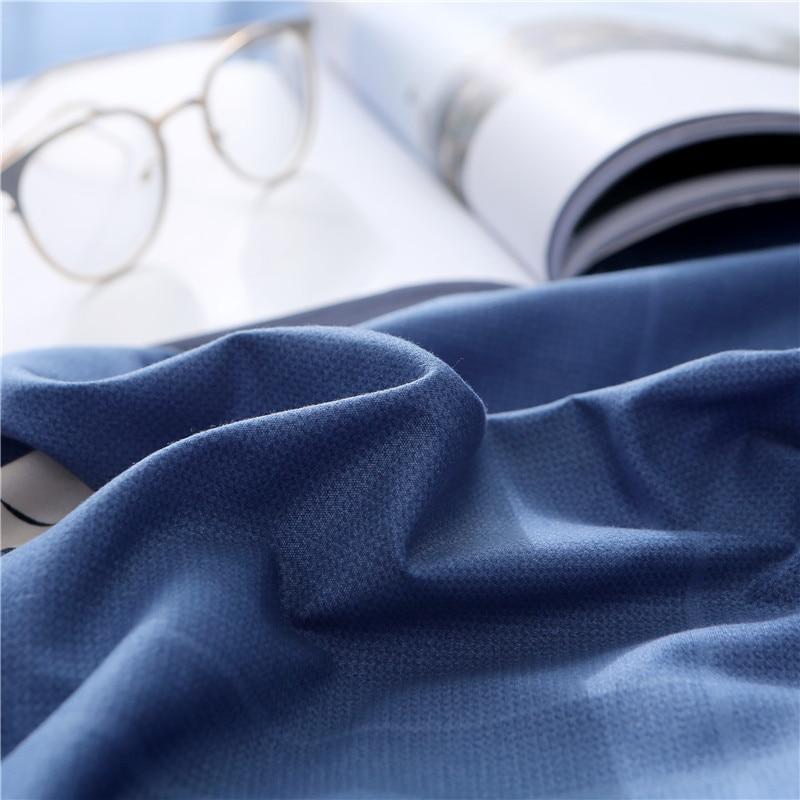 Liv Esthete Elegant Flower Blue Bedding Set Soft Duvet Cover Pillowcase Bed Linen Bedspread Flat Sheet Or Fitted Sheet in Bedding Sets from Home Garden