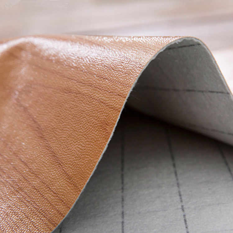 Pabrik Grosir Lantai Vinyl Rumah Tangga Kayu Butir PVC Lantai Tebal Tahan Lama Plastik Lantai Kantor Karpet Lantai Visi