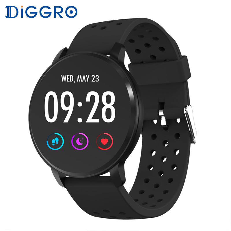 Diggro SN11 Smart Watch Waterproof Heart Rate Monitor Fitness Tracker Bracelet Weather Forecast Long Time Standby Smartwatch Men