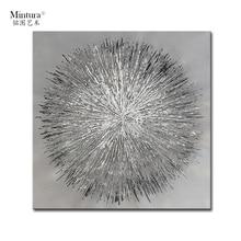 Картина Mintura для гостиной, настенное искусство, абстрактный шар, акриловый холст, Масляные картины, искусство, ручная роспись, декор для отеля, без рамки